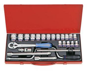 "1/2"" Bộ tuýp 24 chi tiết 10-32mm Kingtony 4325MR"