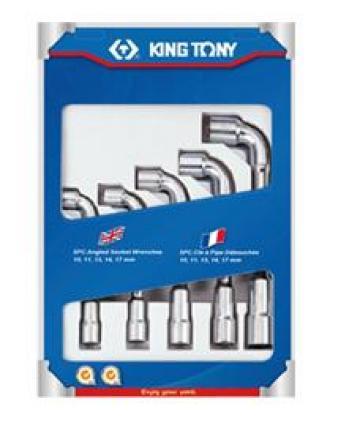 Bộ ống điếu 10-17mm 5 chi tiết Kingtony 1805MR