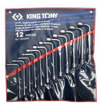 Bộ ống điếu 12 chi tiết 8-19mm Kingtony 1842MR