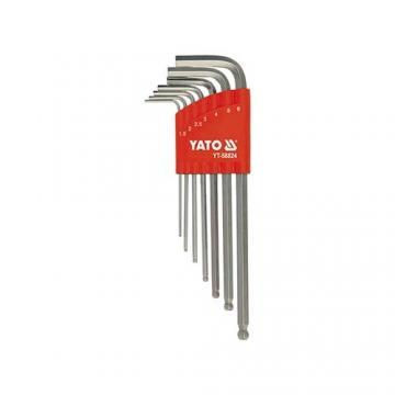 Bộ lục giác hệ mét 1.5-6.0MM 7 chi tiết YATO YT-58826