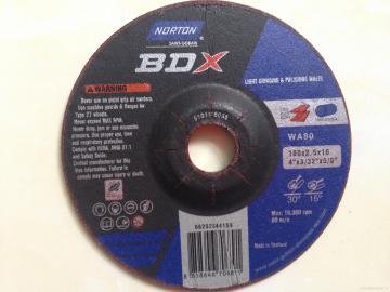 Đá mài dẻo 100x2.5x16 WA80 Norton BDX