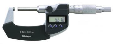 Panme đo ngoài điện tử trục không xoay 0-25mm/0.001mm Mitutoyo 406-250-30